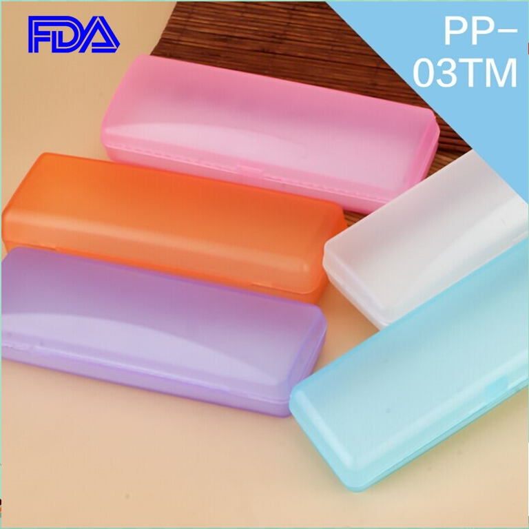 eye wear accessories glasses case foldable transparent eyeglasses case