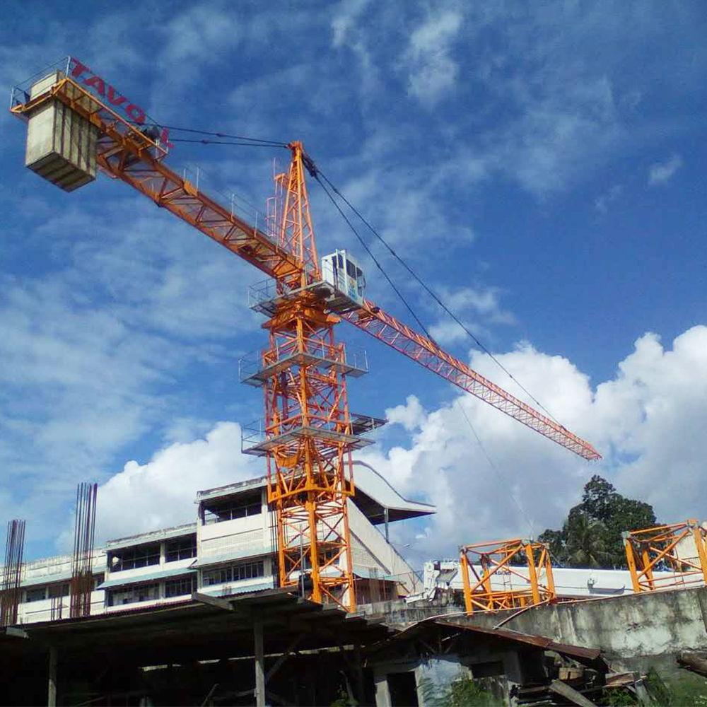 5ton Construction Building Topkit Tower Crane
