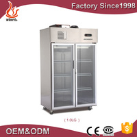 Commercial deep Refrigerator and kitchen refrigeration equipment for deep freezer