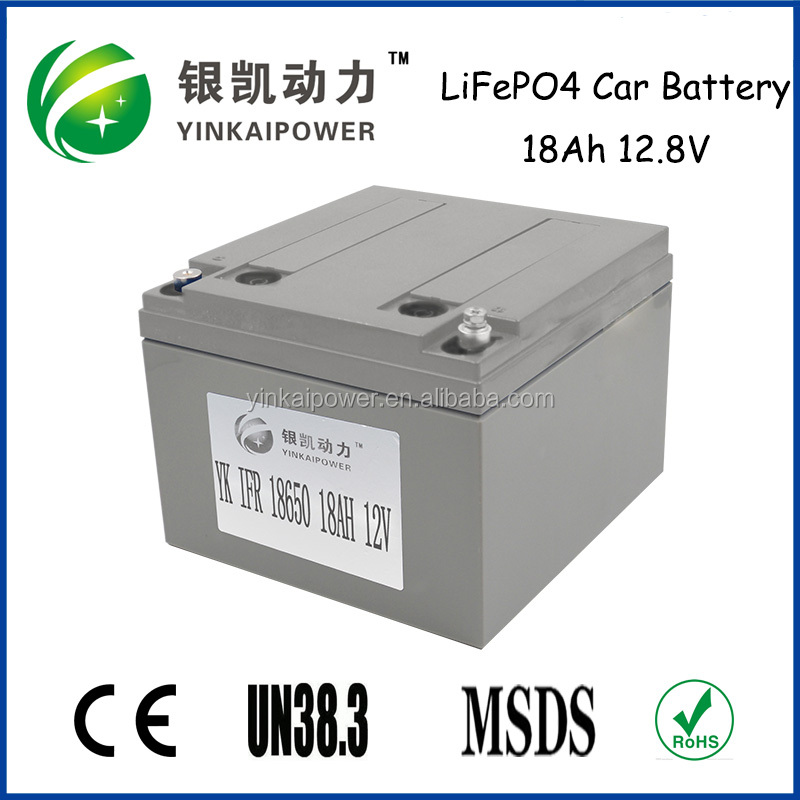hot! 12v 18ah lifepo4 e-bike battery, 12v 18ah e-bike battery using in electric motorcycle/ scooter