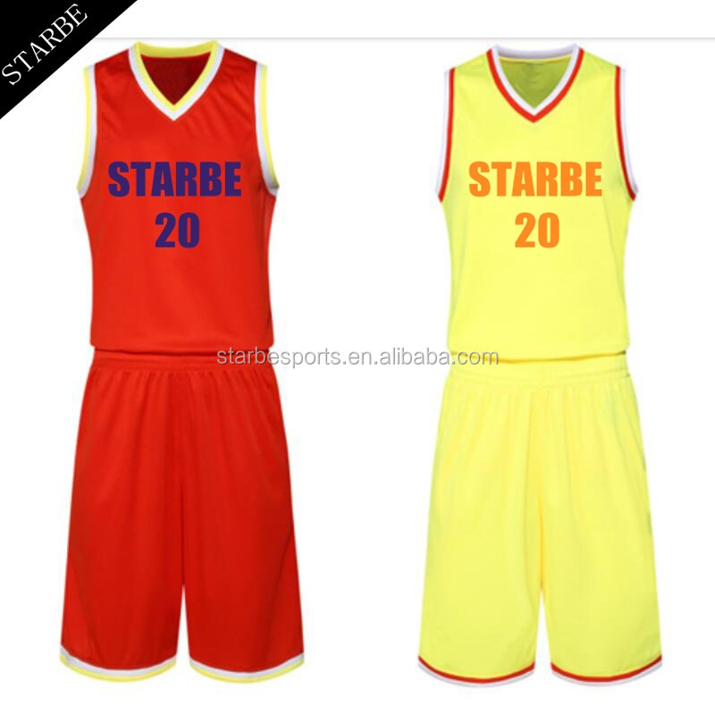 dde7c4eff80 2018 latest Sublimated reversible Custom Basketball Jersey design Basketball  Uniforms blank wholesale