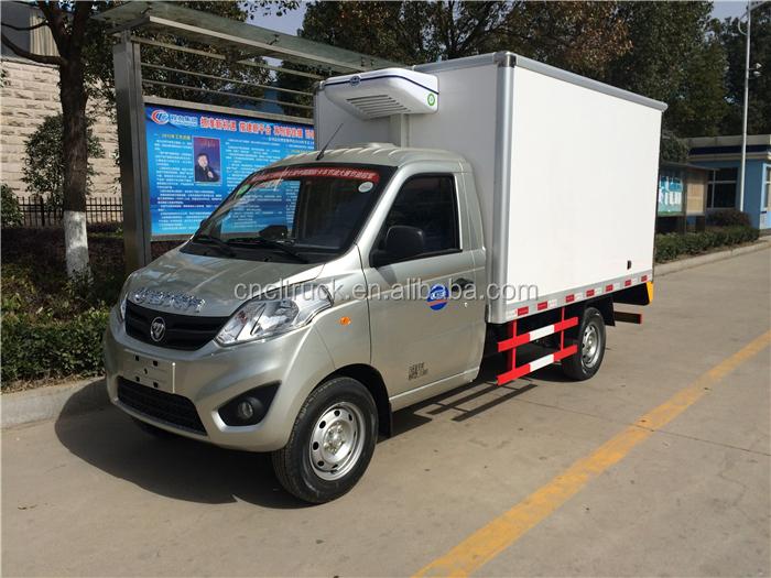 30b9b449fb89 2017 novo Fóton veículo mini geladeira caminhões de transporte de alimentos  ...