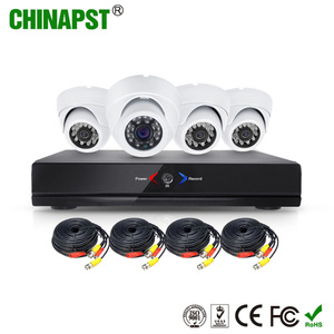 2018 cheapest CE RohS certificate home security 4 AHD Camera +1 AHR 720p 4ch cctv cameras kit PST-AHDK04AL