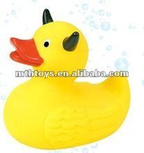 10cm double angle duck baby bath duck plastic toy duck
