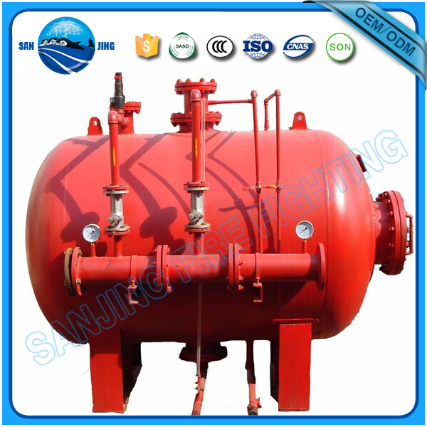 High quality fire fighting equipment fire foam bladder tank