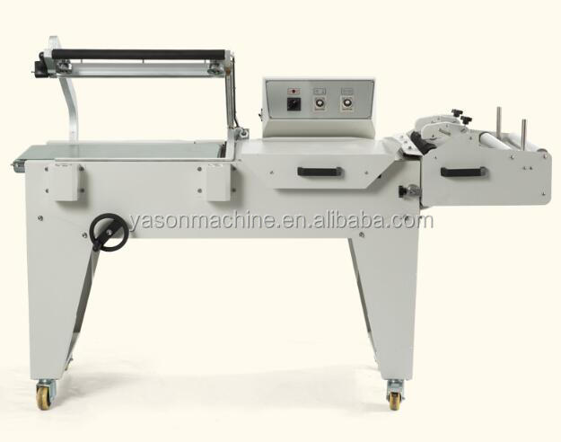 BS-A450 shrink machine + FQL450C semi-automatic L-sealer/Laminator/Shrink film machine