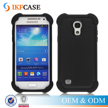 Dual Layer Rugged Heavy Duty Armor Hard Hybrid Shock Absorbing Case for Samsung Galaxy S4 Mini LTE i9190 i9192 i9195