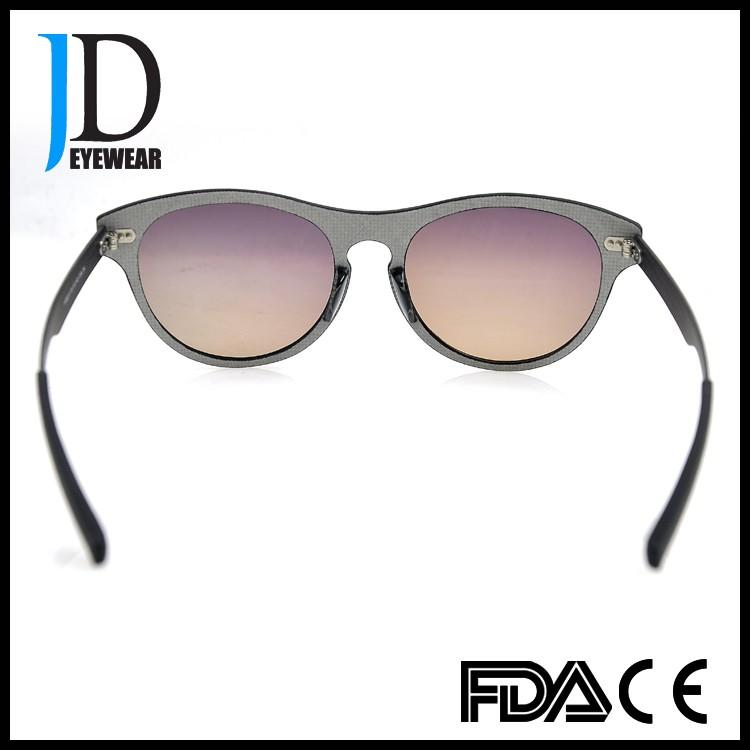 Bulk Buy Wholesale Round Carbon Fiber Sunglasses With Brown Lens ...