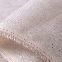 156gsm Density 50X52 plain dyed wholesale 100% pure fabric french linen for shirt