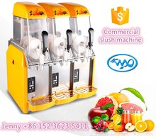 frozen slush machine / slush vending machine /slush granita machine