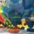 Customized Kids Indoor Soft Playground Colorful Crocheted Climbing Honeycomb Net