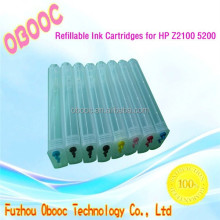 Brand New Empty Refillable Ink Cartridges for HP Z5200 2100