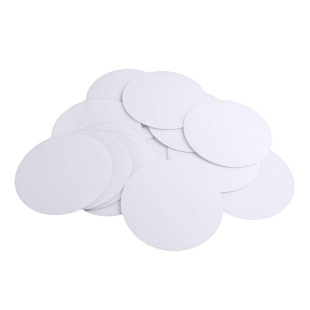 SUBANG 30 Pieces Non-Slip Safety Shower Treads Non-Slip Bath Stickers Anti-Slip Discs Tape Non Slip Stickers for Tubs and Showers