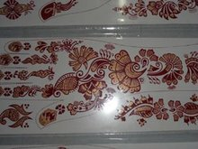 Henna Mehndi Stickers : Mehendi henna tattoo stickers