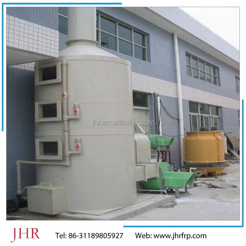 high purification efficiency frp tower/ Ammonia Scrubbing/gas scrubbers/Air cleaning