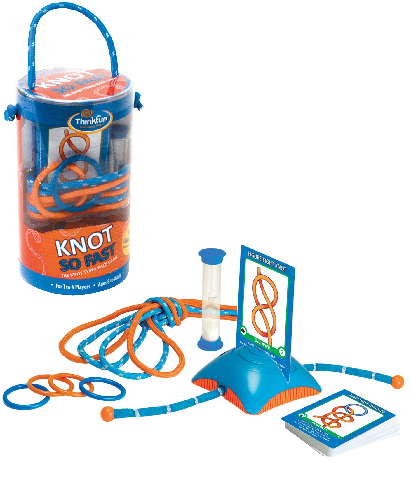 Cheap Rope For Knot Tying Find Deals On Line At Bowline Diagram Clipart Best Get Quotations Think Fun So Fast Innovative Game With 40 Challenges