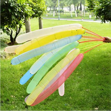 2.4g inflatable rocket shaped balloons