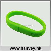 silicone wristband usb , Bracelet Silicone USB wristband