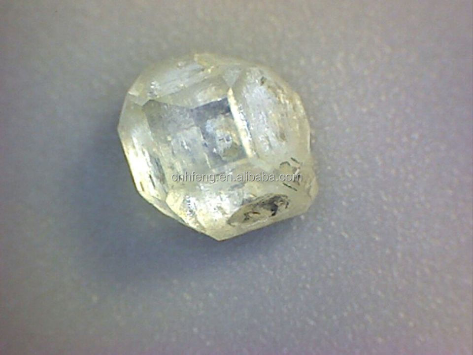 Big Size Synthetic pure rough white diamond