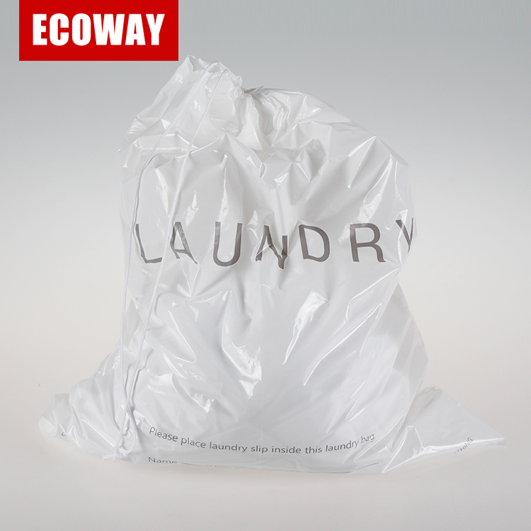 Holiday Travel Laundry Bag hotel plastic wegwerp waszak