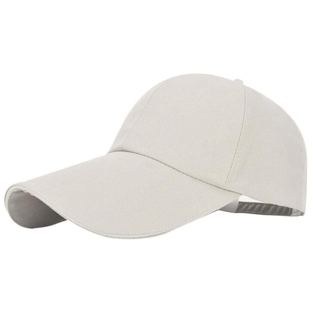 Get Quotations · TiTCool New Plain 100% Cotton Hat Men Women Adjustable  Baseball Cap efea4c9243bf