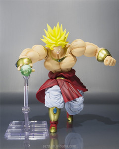 dragon ball action model toy/custom non-toxic PVC 3D action figure/china plastic toy factory