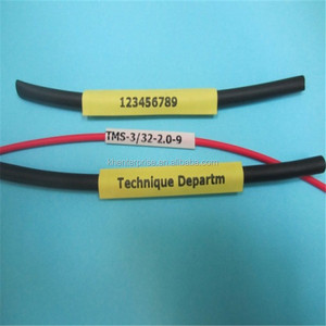 Heat shrinkable Cable marker sleeves