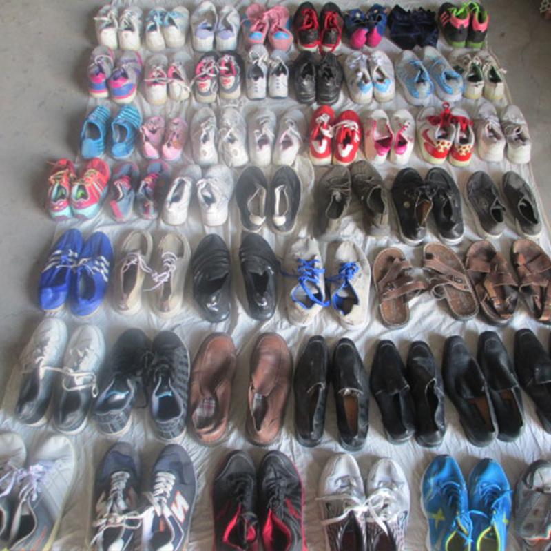 Wholesale second hand shoes bundle used shoes bales sell in kg
