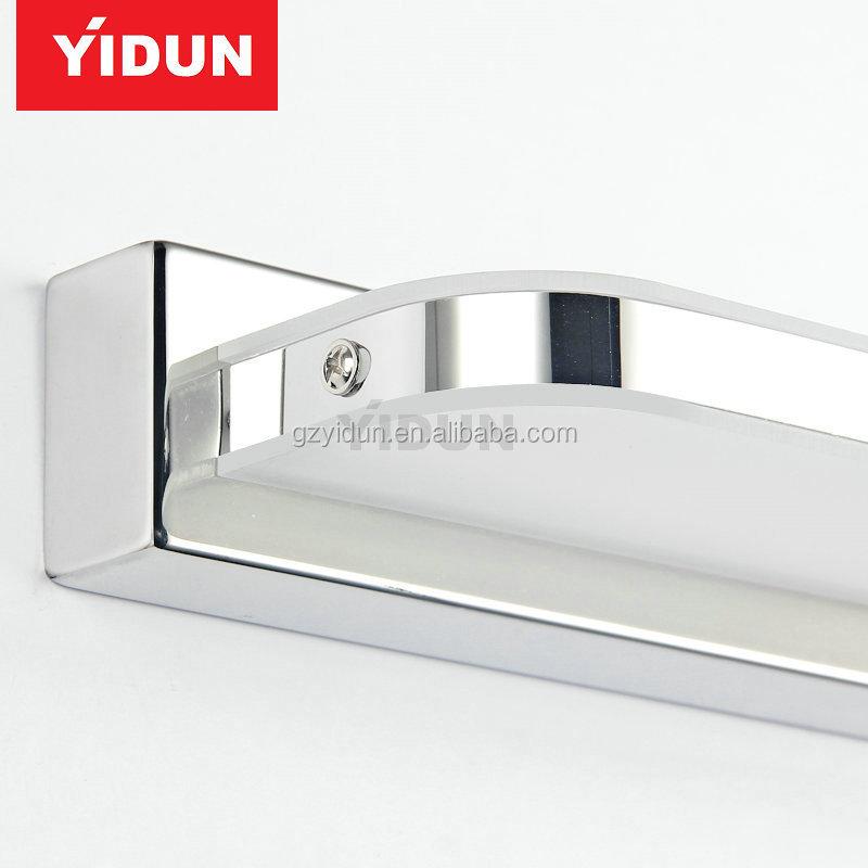 Stainless Steel Dressing Table Mirror Sconces Led Light Bathroom ...