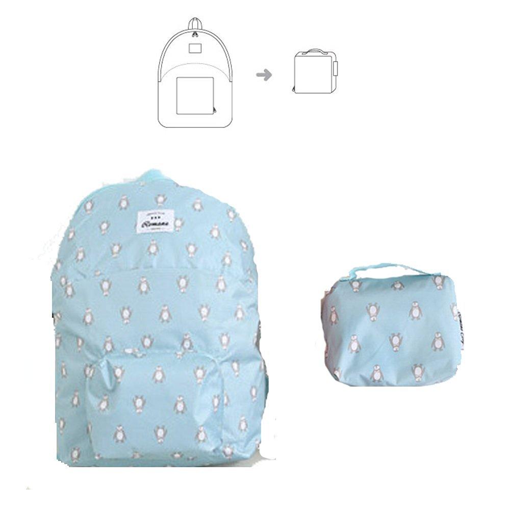 KORENKAB Waterproof Foldable Backpack - Ultralight Packable Outdoor  Backpacks Lightweight Waterproof Day Pack - Camping Running 9ef50e629da66