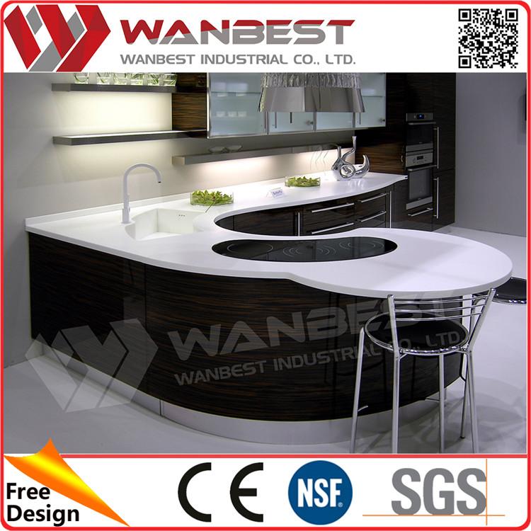 Shenzhen keuken levert kleine keuken ontwerpen l vorm ...
