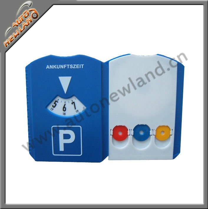 Car Plastic Parking Timer with Ice Scraper and Chips