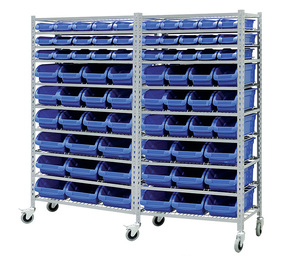 Chinese supplier small parts stackable storage bins systems