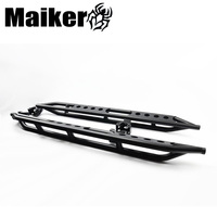 Hot selling 2/4 doors steel side step running board for jeep wrangler jk accessories from maiker