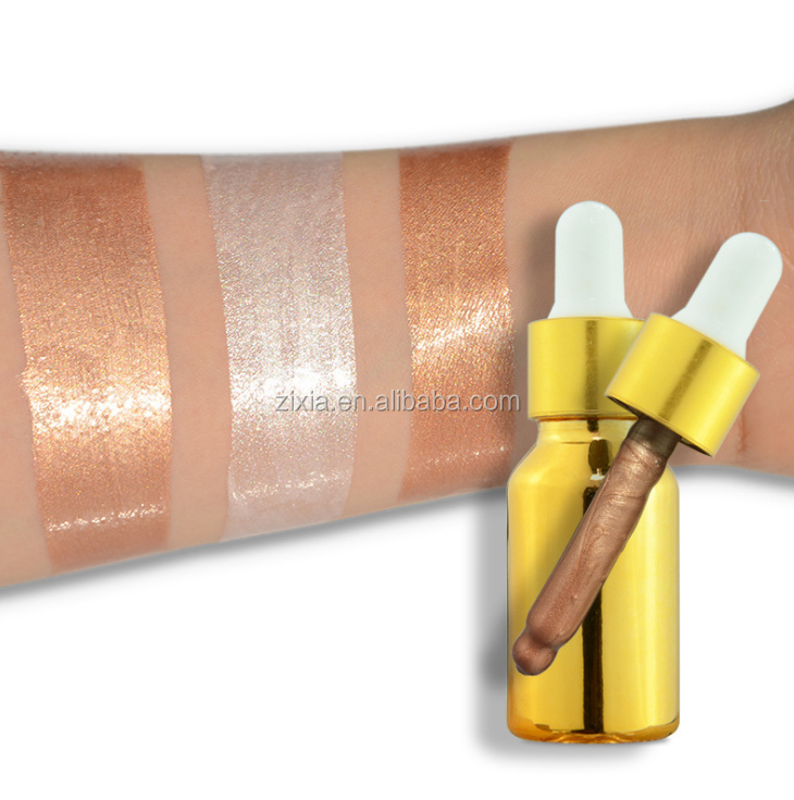 hot selling cosmetic long lasting highlighter private label make up liquid highlighter