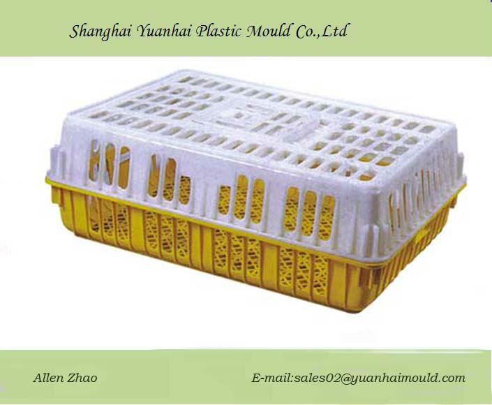 Practical chicken cages for poultry farm injection moulding