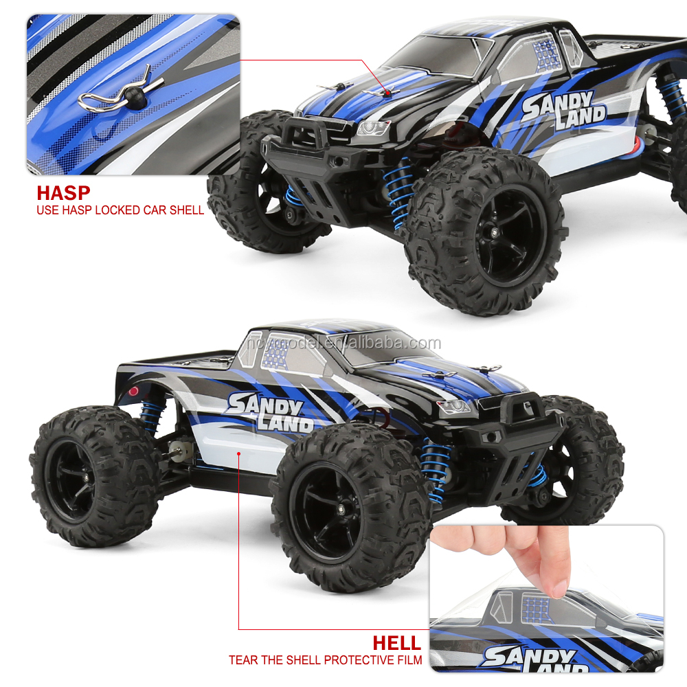 RC Car, Electric RC Car Offroad Remote Control Car RC Monster Truck RTR 1:18 2.4Ghz 4WD High Speed 30MPH Upgraded Controller