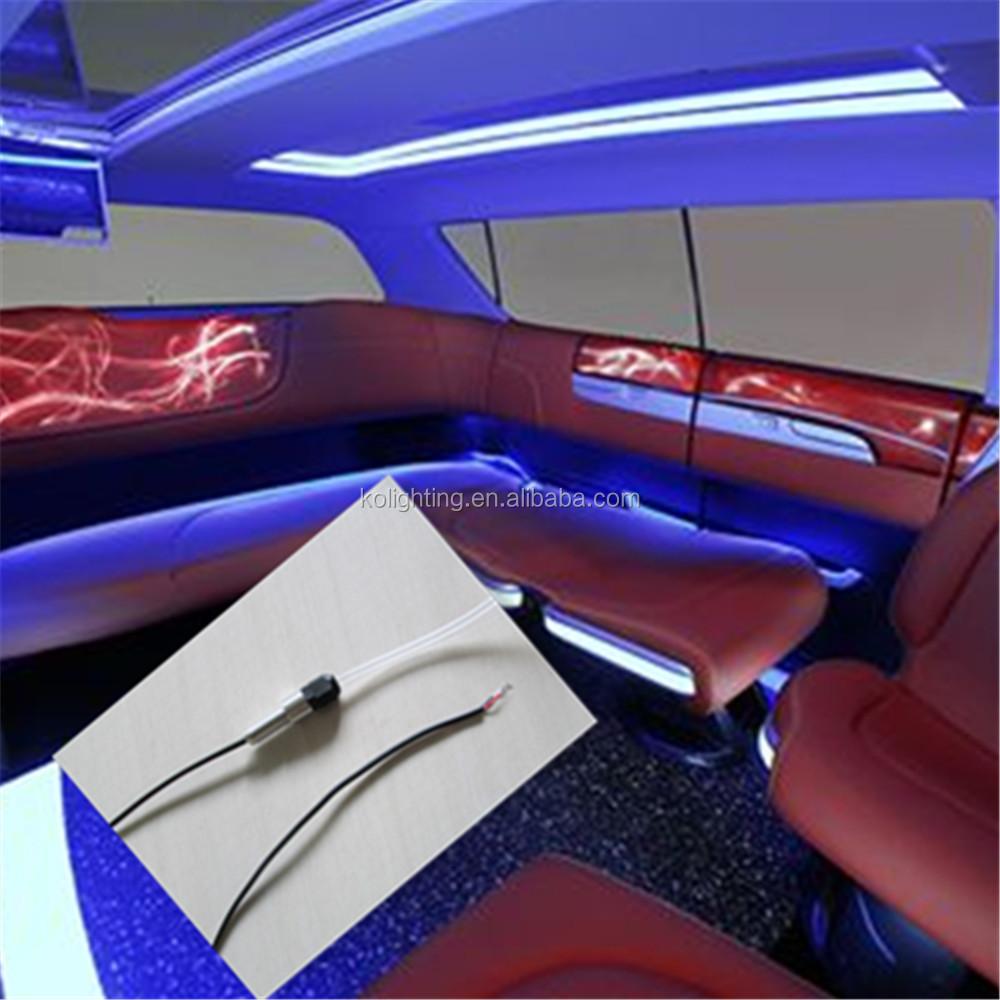 Side Glow Fiber Optic With Mental Fitting For Car Outline Decoration - Buy  Side Glow Fiber Optic With Mental Fitting For Car,Fiber Optic Light For