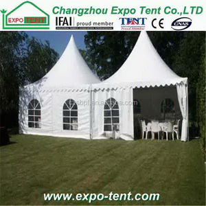 Top end hot-sale durable square pagoda tent gazebo