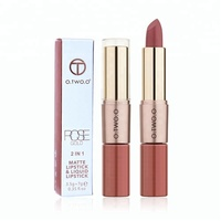 O.TWO.O Waterproof 12 Color Matte Liquid Lipstick High Pigmented Long Lasting Lipstick