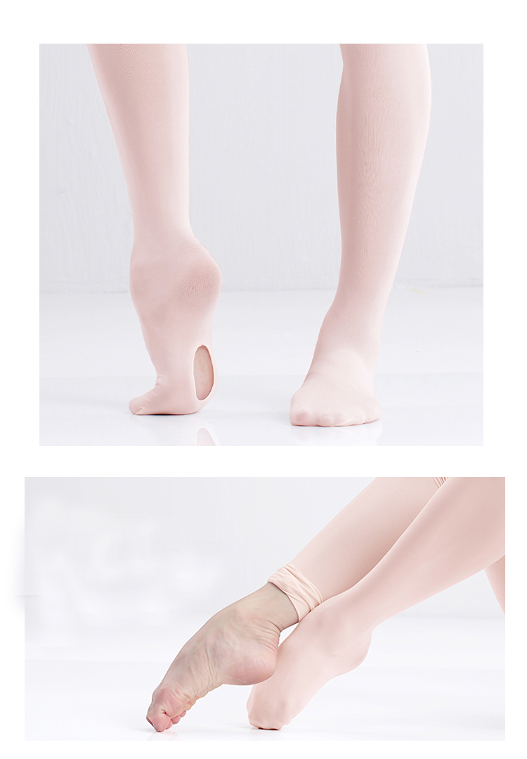 R2816 women velvet convertible dance tights wholesale sexy ballet dance pantyhose for girls ballet tights dance