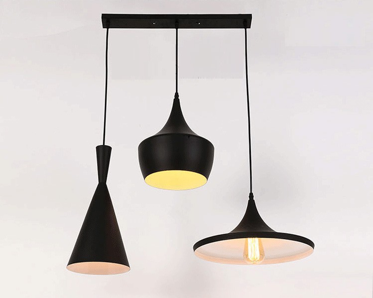 Modern Aluminum Musical Instrument Shaped Coffee Bar Pendant Lamp ...