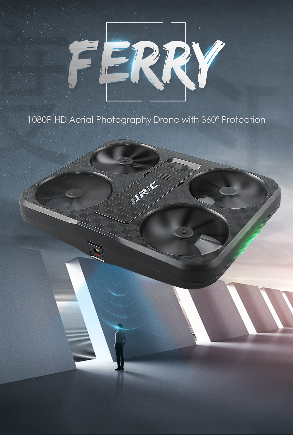 Hot Selling JJRC H59 Air Selfie Mini Drone 4K 1080P Wifi Camera Optical flow Altitude Hold