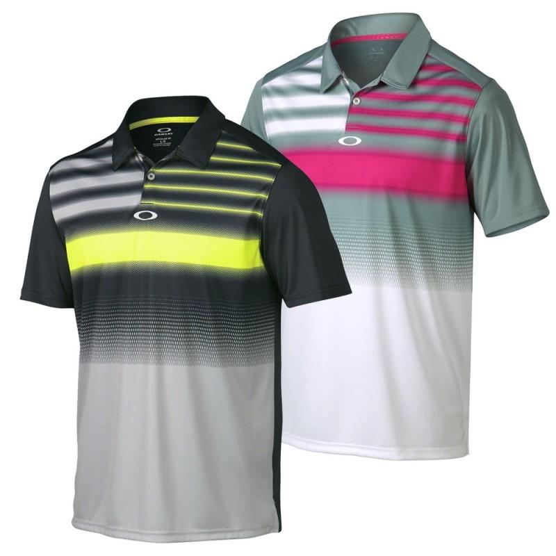 geometric print polo shirt golf clothing for men  buy