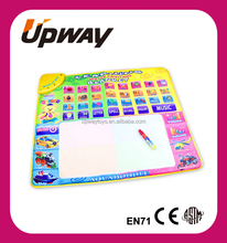 Kids Alphabet Learning Toy Mats Musical Water Painting Doodle Mat