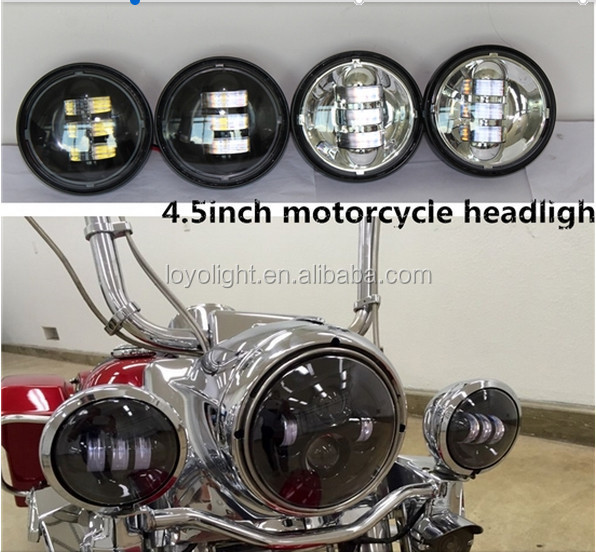 "Guanghzou Factory Wholesale 7"" Motorcycle LED Headlight for Harley"