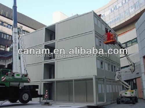 light steel stucture 2 storeys prefabricated house