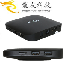 New product 2017 TX2 RK3229 1G 8G tiger digital satellite receiver for wholesales ott 6.0tv box