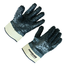 customize jersey cotton dotted gloves nitrile
