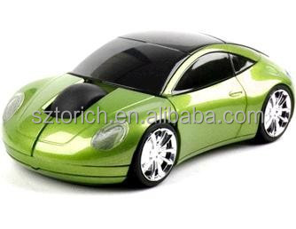 Click 2.4ghz wireless fashionable car mouse Car VW Beetle Car Wireless Computer Mouse